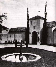 Celeb Home of Rudolph Valentino