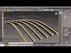 Grid structures 01: grid structures and trusses built out of splines in 3ds max - YouTube