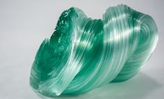 Teal Glass Sculpture @tayganc Teal, Artists, Sculpture, My Favorite Things, Glass, Artwork, Work Of Art, Drinkware, Sculpting
