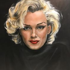 Marilyn - as is... #oilpainting #oil #oilonacrylic #art #portrait #portræt #kunst #arts_help #arts_gate #talentedpeopleinc #mixedmedia #marilyn #marilynmonroe
