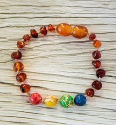 Amber Bracelet, Beaded Bracelets, Baltic Amber, Mom And Baby, Jewelry, Jewlery, Bijoux, Pearl Bracelets, Schmuck