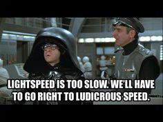 Colonel Sandurz: Sir hadn't you better buckle up? Dark Helmet: Ah, buckle… Funny Movies, Great Movies, 80s Movies, Comedy Movies, Clash Of Clans, Mel Brooks Movies, Movie Quotes, Funny Quotes, Tv Quotes