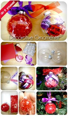 The Red Hat Society: DIY RHS Ornaments