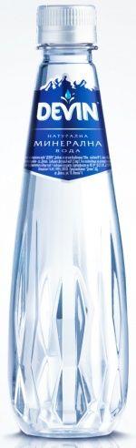 Devin Crystal Line bottle by PET Engineering uses Novapet's Glasstar resin