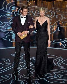 Chris Hemsworth, Charlize Theron,/クリス・ヘムズワース&シャーリーズ・セロンがプレゼンターに #Oscars #RedCarpet!