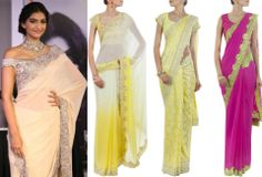 GET THIS LOOK: Sonam Kapoor looks stunning in the most desirable SUNEET VERMA sari. Which one is your favorite??  Shop this collection at http://www.perniaspopupshop.com/designers-1/suneet-varma #perniaspopupshop #celebrity #sonamkapoor #saree #ethnic #suneetverma #designer #fashion #beautiful #shades #love #shopnow #happyshopping