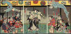 ukiyo-e | La muerte en el mundo flotante  01  La bruja Takiyashi invoca a un enorme espectro esquelético para asustar a Mitsukuni.  Utagawa Kuniyoshi s. XIX Los fantasmas de la opresión urbana | ukiyo-e Hacia finales del siglo XIX las calles de Japón estaban dominadas por fantasmas. La historia del país del sol naciente ligada desde el inicio de sus tiempos a una []  El artículo ukiyo-e | La muerte en el mundo flotante ha sido escrito por Hugo M Gris y aparece primero en COSAS de…