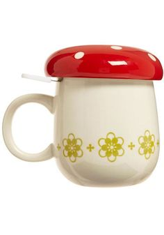 for the tea lover.  this mug comes with a tea strainer (that comes out) and a lid to keep their tea nice and hot.