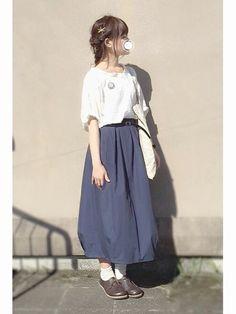 Samansa Mos2のシャツ・ブラウス「ぬき衿セーラーブラウス」を使ったmugi *のコーディネートです。WEARはモデル・俳優・ショップスタッフなどの着こなしをチェックできるファッションコーディネートサイトです。