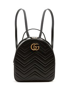 34f40c11e4710c Click here to buy Gucci GG Marmont quilted-leather backpack at  MATCHESFASHION.COM Gg