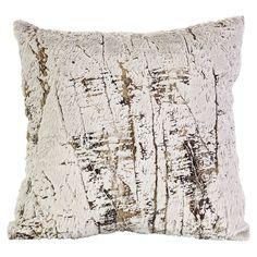 Birch-tree inspired pillow