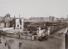 Escuela Collaso i Gil. Obras de construcción, 1933. AFB. J. Ribera