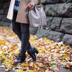GiGi New York | Jenn Bucket Bag | Haute Off The Rack Fashion Blog