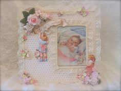 Shabby Chic ***Little Darlings Picture Frame - Scrapbook.com