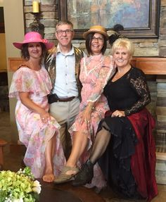 Mayor Nolan, Sandy and Klondike Kate