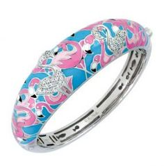Flamingo Bangle . . . Belle etoile