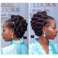 Hair Jewelry orgeous Bridal Hair styled by Box Braids Hairstyles, Black Hair Updo Hairstyles, My Hairstyle, African Hairstyles, Wedding Hairstyles, Trendy Hairstyles, Girl Hairstyles, Natural Hair Braids, Natural Hair Updo