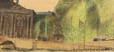 Frantisek Tichy : Paris parliament / 1934 / oil and tempera on canvas / Czech Rep.