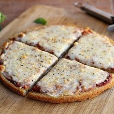 5-Ingredient Quinoa Pizza Crust (Vegan, Gluten-Free)