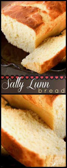 This Sally Lunn bread recipe was handed down to us from my great-grandmother. It… This Sally Lunn bread recipe was handed down to us from my great-grandmother. It is a sweet bread my family has passed down through generations. via Favorite Family Recipes Sweet Yeast Bread Recipe, Simple Sweet Bread Recipe, Butter Bread Recipe, Recipes With Yeast, Healthy Bread Recipes, Yeast Bread Recipes, Pastry Recipes, Muffin Recipes, Cooking Recipes