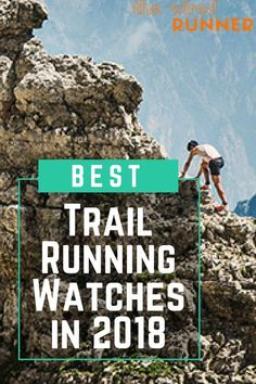 Stats like pace, time, and distance are just as important trail running as they are on the road. But the best trail running watches have features especially useful on the trail, like navigation and elevation functions. Check out the post for the best trai Best Trail Running Shoes, Running Gear, Running Training, Running To Stand Still, Trail Races, Running Accessories, Cross Country Running, Running Watch, Running For Beginners