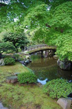 Kyoto Imperial Gardens by plattbridger. Portland Japanese Garden, Japanese Garden Design, Japanese Gardens, Japanese Nature, Amazing Gardens, Beautiful Gardens, Beautiful Flowers, Japan Garden, Water Garden