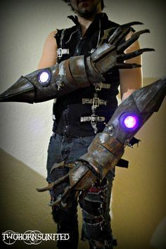 rusted metal gauntlet vide o game - Google Search