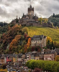 The castle on the hill  ~ Cochem, Germany Phot