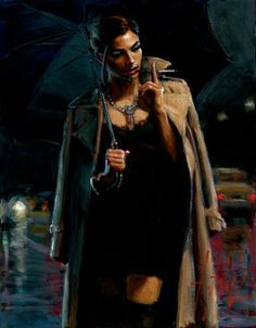 Fabian Perez, 1967 ~ Reflections of a Dream