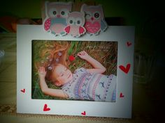 Owl photo frame :)