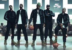 #sneakers #news  Nike Unveils The SF-AF1 With Draymond, Boogie, AD, PG13, And Isaiah