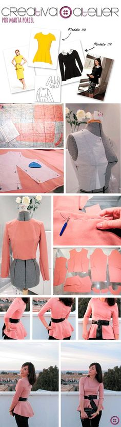 Top Peplum DIY:
