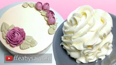 Sawsen's Simple Buttercream recipe - smooth, easy, delicious & less sweet!