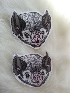 Bat patches by Atomic Bubonic on Etsy Dibujos Tattoo, Vampire Bat, Street Art, Pin And Patches, Illustrations, Tattoo Inspiration, Blackwork, Sleeve Tattoos, Amazing Art