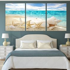 Aliexpress 3 Pieces Of Wall Art Deco Seaview Sea Shells Modern Fashion Picture Print On Canvas Painting Oil Paintings Home Decoration on Aliexpress IFound Art Deco Picture Print Seaview Wall Home Wall Decor, Beach House Decor, Bedroom Decor, Foyer Mural, Art Deco, Beach Room, Canvas Home, House Canvas, Beach Canvas