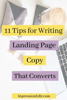 Want to increase conversions on your landing page? Master these 11 essential landing page copy tips   grab my landing page copy template