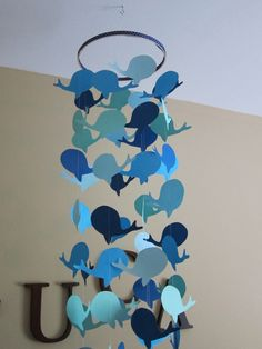 whale baby shower ideas- could also use ducks