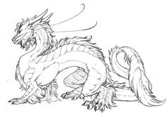 japanese Coloring Pages | Japanese Dragon Graphics Code | Japanese Dragon Comments & Pictures