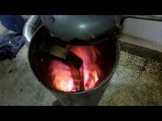 Waste oil burner 2 - YouTube Waste Oil Burner, Oil Burners, Stoves, Wood, Youtube, Corner, Stick Crafts, Skillets, Woodwind Instrument