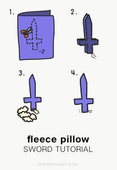 Fleece Sword Tutorial