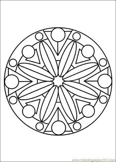 Marvelous Painting Coloring Pages 68 Mandalas coloring page for