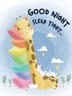 Good Night Cards, Cute Good Night Quotes, Good Night Greetings, Good Night Gif, Good Night Image, Happy Good Night, Night Night, Night Time, Good Night Friends