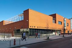 New Settlement Community Campus / Dattner Architects Location   Description   Brick   Interior   The outdoor   Drawings   Extra info Location The New...