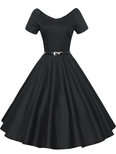 ILover Women 1950s V-Neck Vintage Rockabilly Swing Evening Party Dress ILover, http://www.amazon.com/dp/B0149RQJPE/ref=cm_sw_r_pi_dp_RehExbM0WSTNT