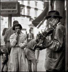 Violinista, Napoli, Vittorio Pandolfi 1955.