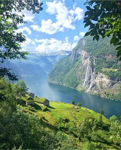 """9,278 Likes, 58 Comments - NORWAY 🇳🇴 (@norge) on Instagram: """"The breathtaking beauty of Geiranger 🇳🇴 #Norge photo by @iiidamarie"""""""