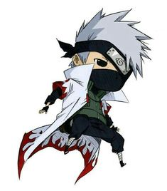 ImageFind images and videos about naruto, chibi and naruto shippuden on We Heart It - the app to get lost in what you love. Naruto Kakashi, Anime Naruto, Naruto Cute, Naruto Shippuden Anime, Otaku Anime, Boruto, Anime Chibi, Kawaii Anime, Manga Anime