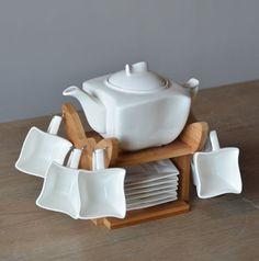 Alice In Wonderland Modern Tea Set