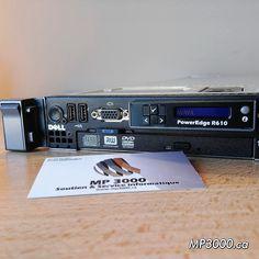 Serveur PowerEdge Dell R610 Super aubaine 365$ Intel Xeon Quad Core E5620 2.4 Ghz Bus Speed 5.86GT/s 6 Go de Ram/Mémoire vive 2 Disques durs de 300 Go en RAID 1 Carte graphique Matrox G200 Usagé Testé à 100% Kingston, Waiting Staff