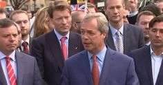 """6/29/2016 Brexit Leader Nigel Farage: """"Nothing on Earth could ever persuade me to vote for Hillary"""" """"I think Trump would be better for us than Barack Obama has been""""...infowars.com"""